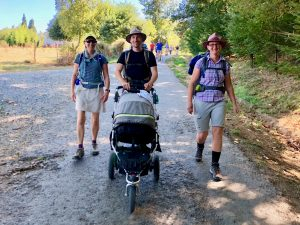 Camino: Day 6 – Bagpipes & Baby Buggies