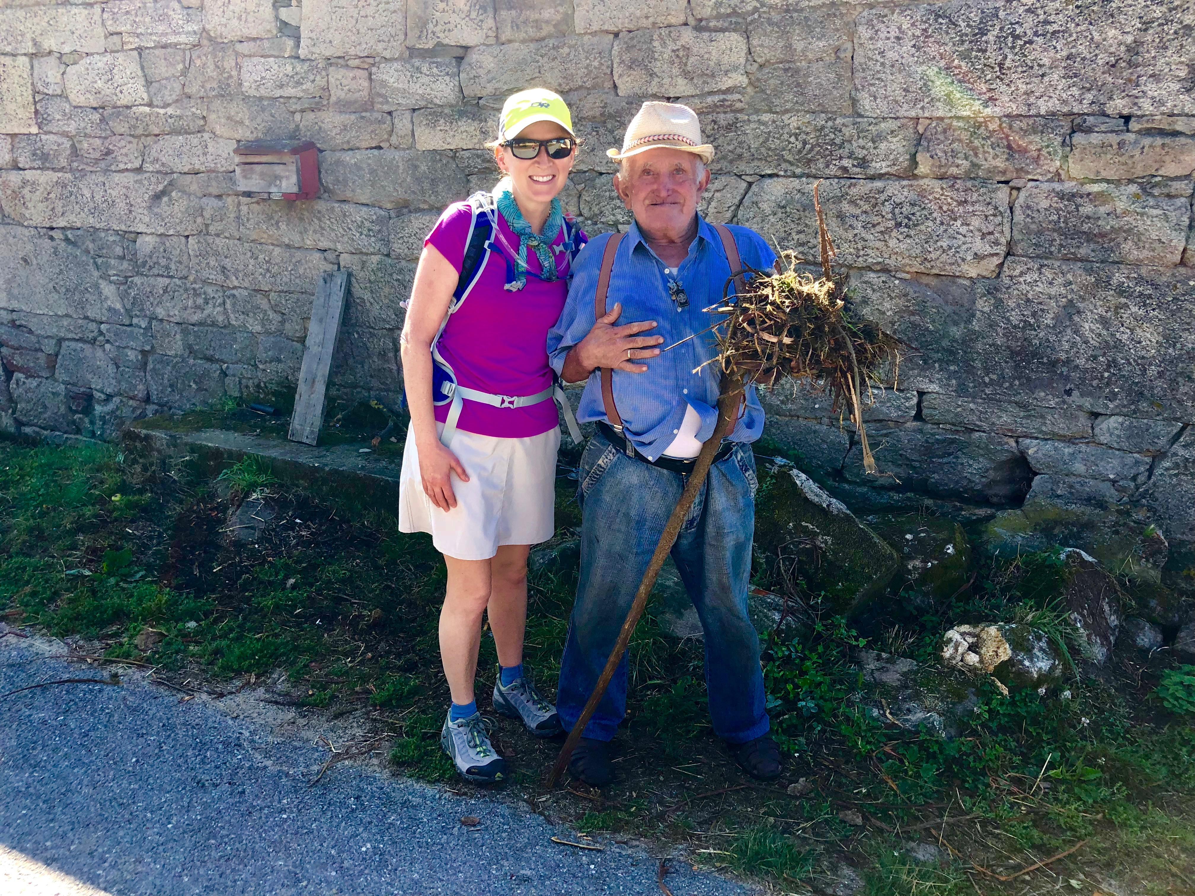 Camino: Day 2 – Galician Farmer